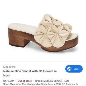Mercedes Castillo 5 35 Natalea Floral 3D Sandal
